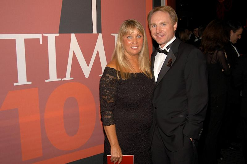 NEW YORK CITY, NY - MAY 8: Blythe Brown and Dan Brown attend TIME Magazine's 100 Most Influential People 2006 at Jazz at Lincoln Center at Time Warner Center on May 8, 2006 in New York City. (Photo by Billy Farrell/Patrick McMullan via Getty Images)