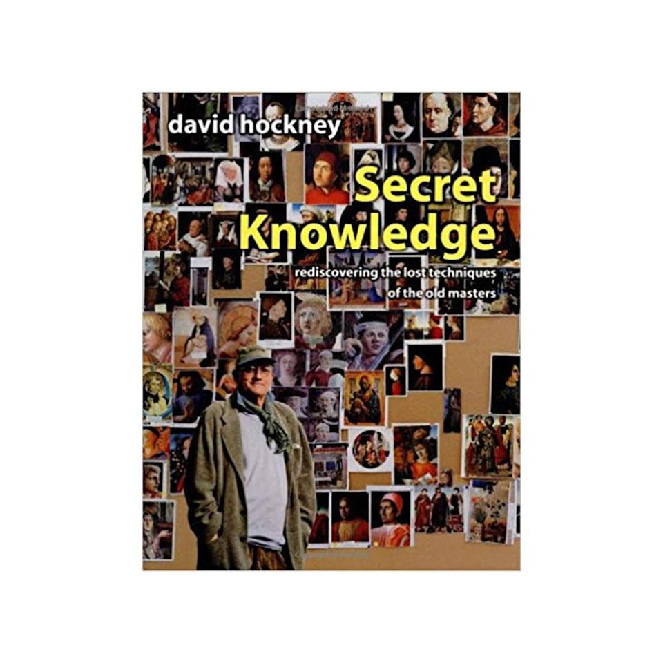 <em>Secret Knowledge: Rediscovering the Lost Techniques of the Old Masters</em>, by David Hockney. (Photo: Amazon.com)