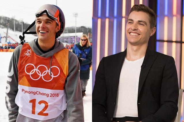 <p>American freestyle skier and Olympic silver medalist Nick Goepper bears a strong likeness to actor Dave Franco. This isn't Goepper's first brush with Hollywood—after meeting Taylor Swift in 2014, he asked Swift to be his Valentine via Twitter. Swift has yet to respond. </p>