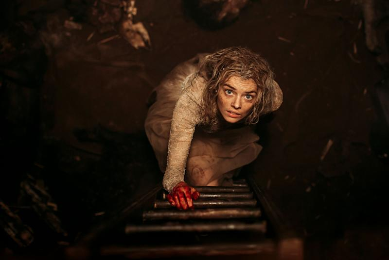 "Want to have a blast? Try ""Ready or Not,"" a devilish horror comedy that might as well be the result of a steamy foursome involving ""Clue,"" ""Hereditary,"" ""Succession"" and ""The Texas Chain Saw Massacre."" With a searing ""eat the rich"" bedrock and a plucky lead performance from Samara Weaving as a bride whose wedding night descends into murder, the film never takes itself too seriously, which lends Matt Bettinelli-Olpin and Tyler Gillett's masterstroke even more bite."