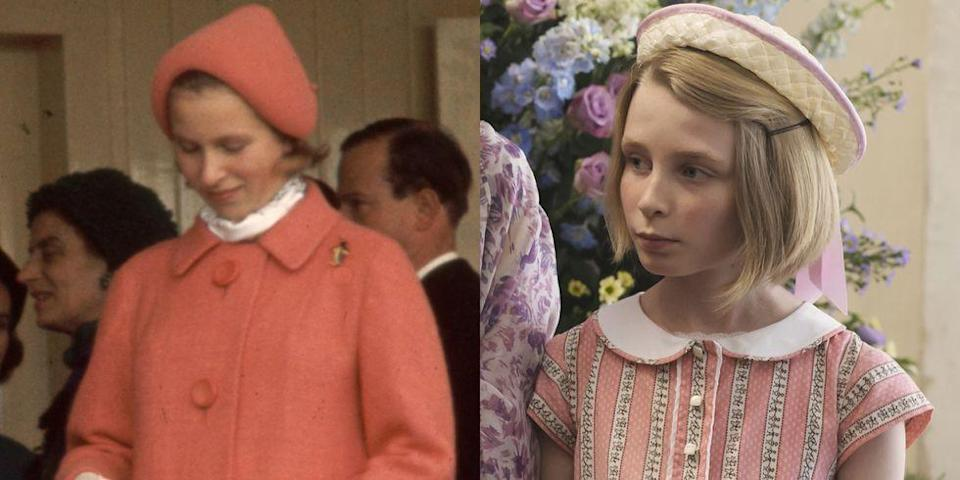 <p>Lyla Barrett-Rye played a young Princess Anne in Season 2 of <em>The Crown</em>.</p>
