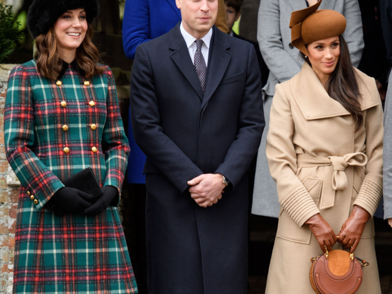 Kate Middleton & Meghan Markle Made Their First Public Appearance ...