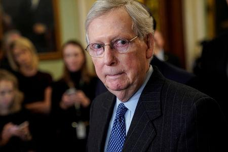 McConnell says Senate will vote on Democrats' 'Green New Deal'