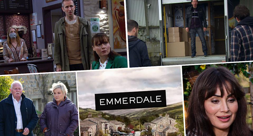 Look ahead on Emmerdale (ITV)