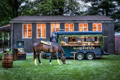 The Blade and Bow Horse Trailer, one of the DIAGEO Experience Vehicles available for reservation through Zola.