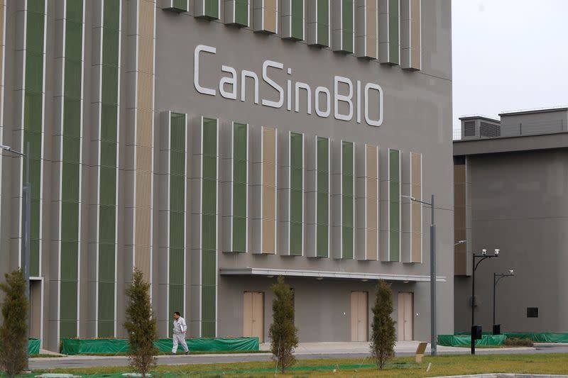 China grants country's first COVID-19 vaccine patent to CanSino - state media