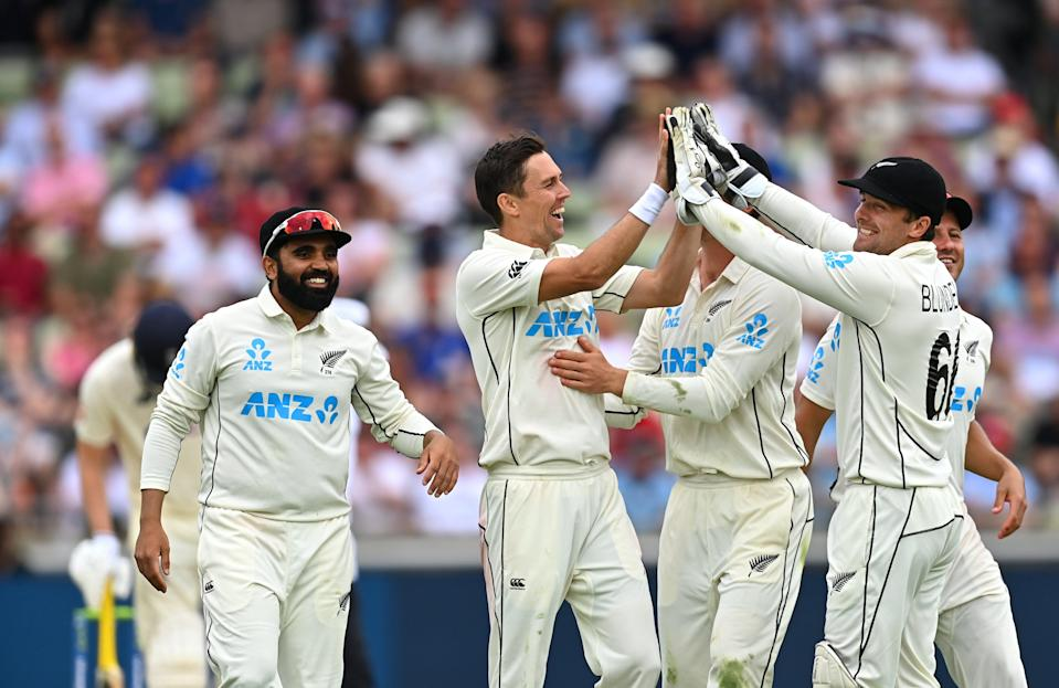 New Zealand grew into the match on day one of the second Test (Getty Images)