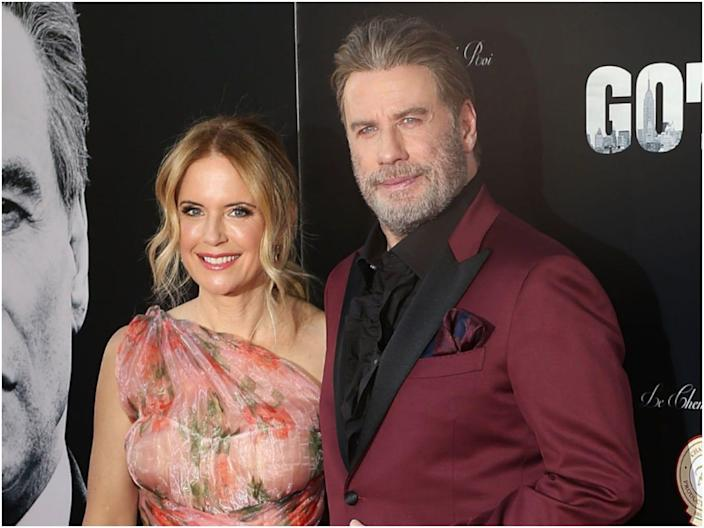 John Travolta and Kelly Preston were married for 29 years.