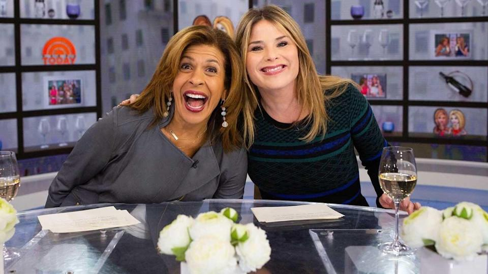 Hager recently returned to the 'Today' show from maternity leave after giving birth in August.