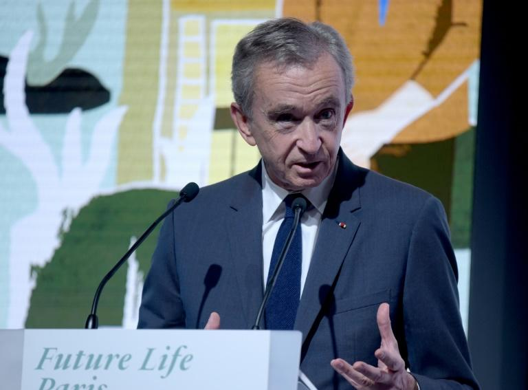 """Arnault said Thunberg was """"exteremly negative"""" and only offered criticism"""