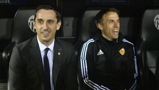 <p>The Neville brothers are members of a rather sporting family. While the two played a rather influential role in sir Alex Ferguson's reign of terror as Manchester United manager (Gary going on to captain the side), Phil is also twins with England netball international Tracey Neville, while their father, Neville Neville (never ceases to be funny) was commercial director of Bury.</p> <br><p>The two have both been involved in coaching roles within the England international setup, and Phil even assisted Gary during his tortuous, and short lived time in Valencia. They both also co-own Salford City football club, along with other Class of '92 members.</p>
