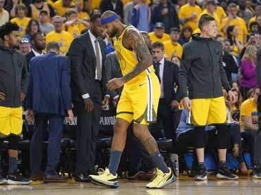 NBA: Golden State Warriors centre DeMarcus Cousins facing extended spell on sidelines after picking up injury against LA Clippers