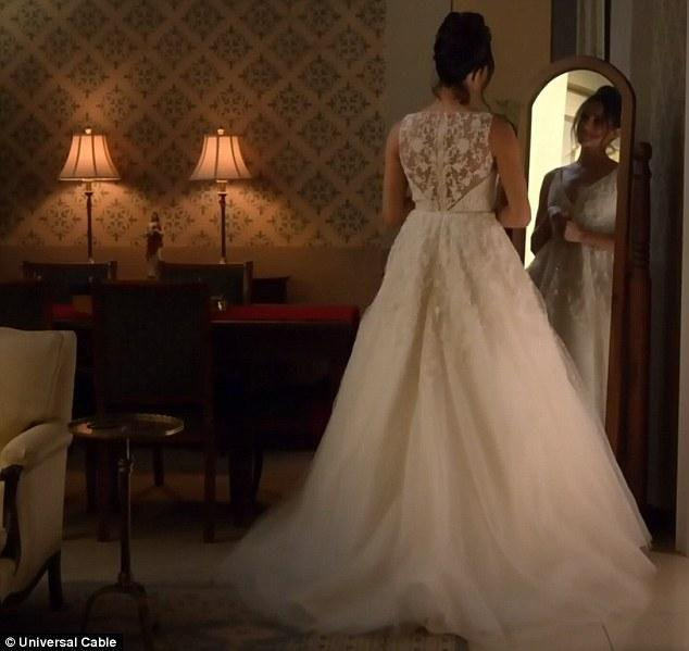 Mirror, mirror. When will this happen for real? Source: USA Network