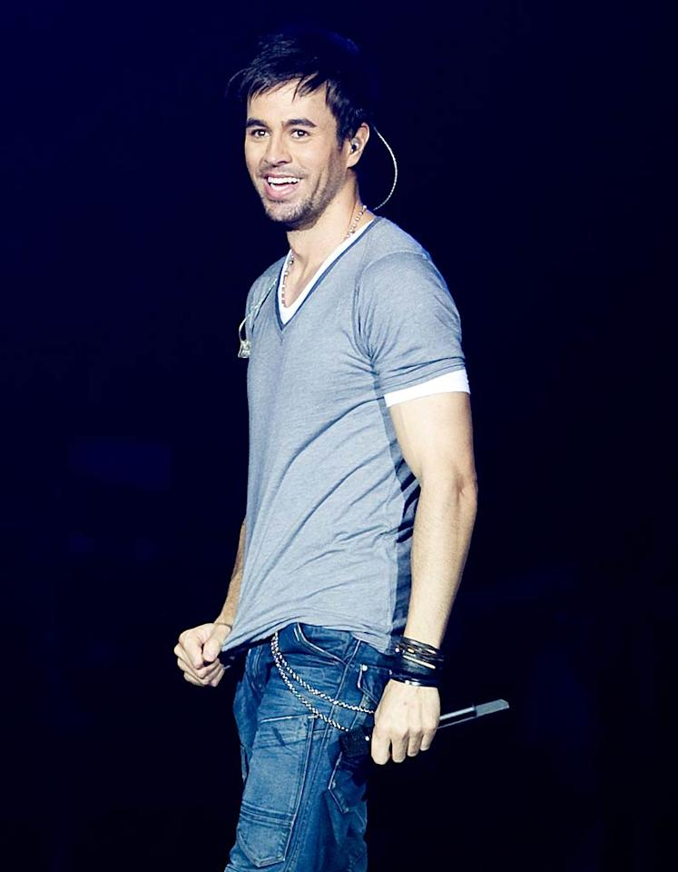 """Enrique Iglesias turns 36 Samir Hussein/<a href=""""http://www.gettyimages.com/"""" target=""""new"""">GettyImages.com</a> - March 25, 2011"""