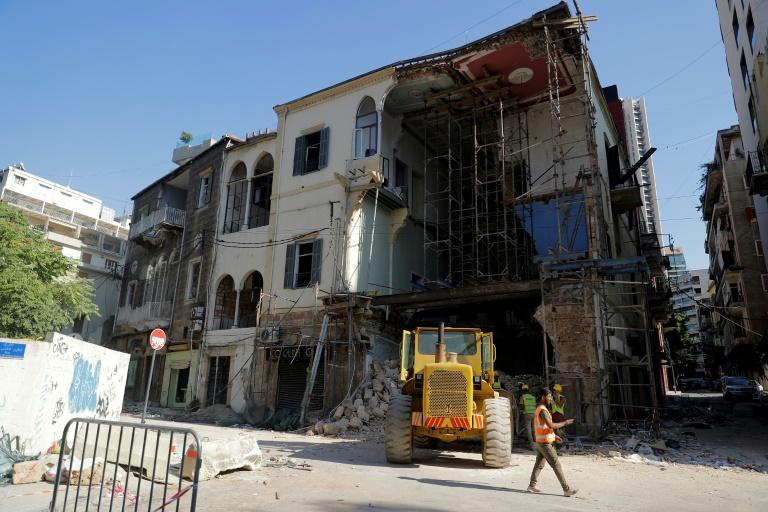 After Beirut blast, property sharks circle ravaged homes