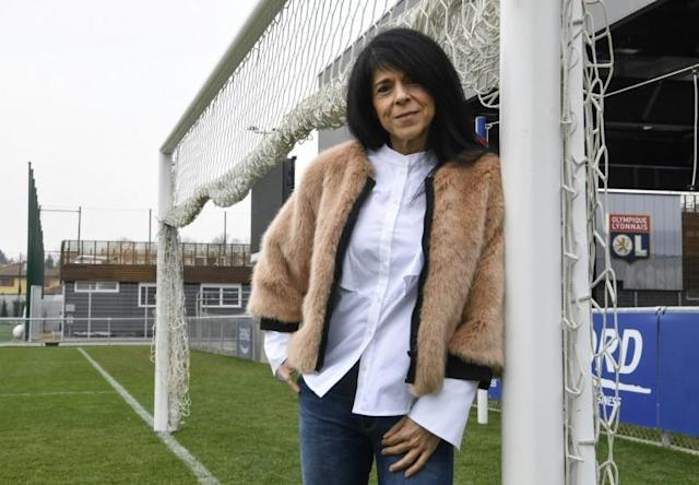 Isabelle Dias is Lyon's official translator but her role consists of far more than helping them fill in paperwork, she even organises activities for players' children and family outings