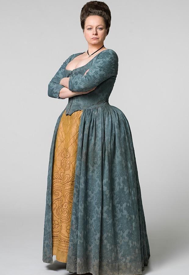 Samantha Morton in a scene from the series Harlots