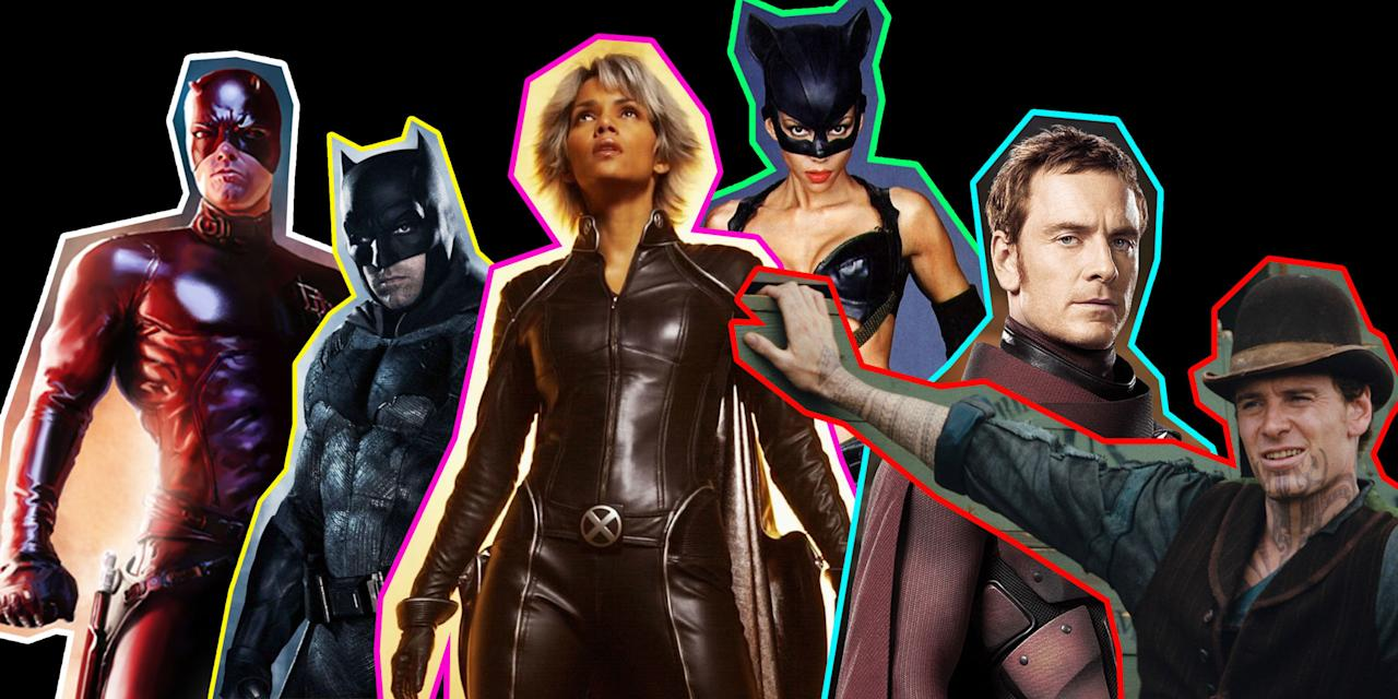 """<p>There are some who would argue (perhaps unhappily) that superhero movies are taking over TV and film, and perhaps they're on to something, with more and more actors filling their IMDB pages with comic-book credits.</p><p>Whether it's down to parallel dimensions or just a case of unimaginative casting, a surprising number of actors have portrayed characters from both the world of <a rel=""""nofollow"""" href=""""http://www.digitalspy.com/marvel/"""">Marvel Comics</a> and their rivals <a rel=""""nofollow"""" href=""""http://www.digitalspy.com/dc-movie-universe/"""">DC</a>.</p><p> (Note: We've included MCU, Spider-Man and X-Men stars under Marvel, and discounted adaptations of DC-owned comics – eg <em>The Losers – </em>that have nothing to do with the shared universe.)<br></p>"""