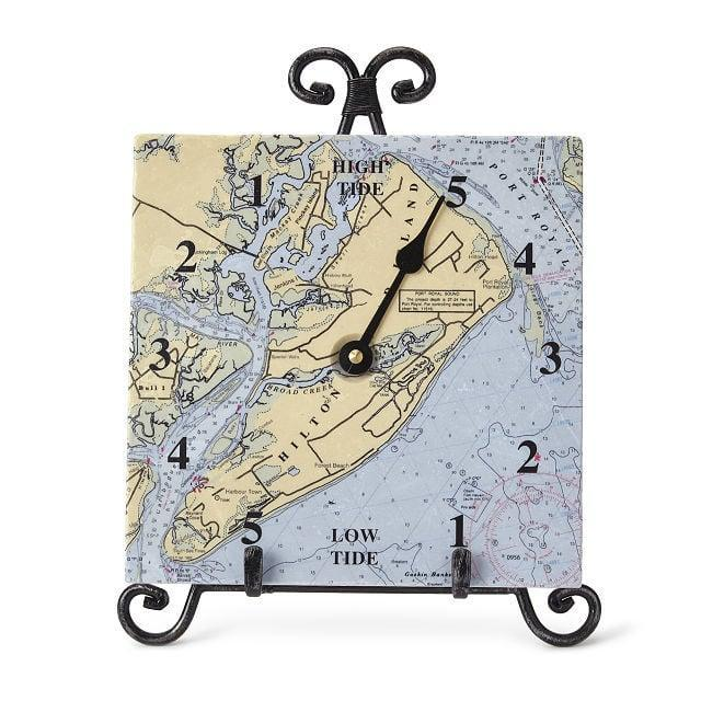 <p>Help them keep track of time with this travel-inspired <span>Custom Map Tide Clock</span> ($85).</p>