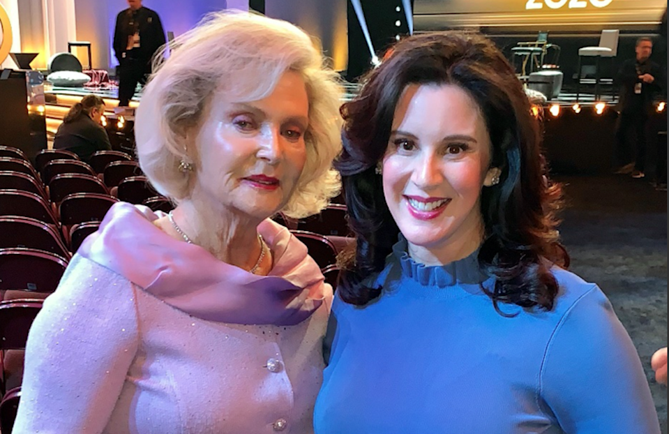 The author and her mother again at the 2020 Miss America competition. (HLF)
