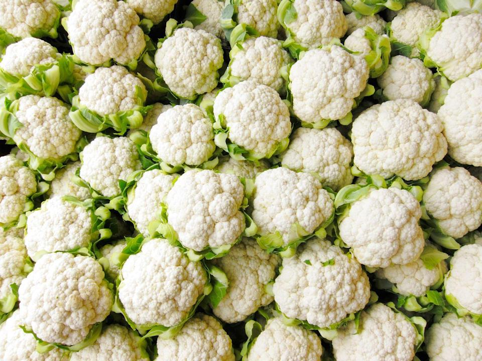 """<p>If you haven't already gotten in on the <a href=""""https://www.goodhousekeeping.com/health/diet-nutrition/a20951206/cauliflower-nutrition/"""" rel=""""nofollow noopener"""" target=""""_blank"""" data-ylk=""""slk:cauliflower"""" class=""""link rapid-noclick-resp"""">cauliflower</a> craze, it's not too late to join. Swapping spuds for cauliflower is an easy way to sneak in extra vitamin C, potassium, and plant-based omega-3's to your meal. </p>"""