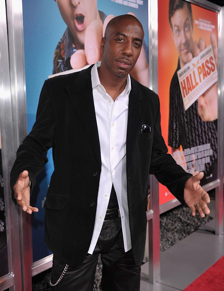 "<a href=""http://movies.yahoo.com/movie/contributor/1804892905"">J.B. Smoove</a> attends the Los Angeles premiere of <a href=""http://movies.yahoo.com/movie/1810133702/info"">Hall Pass</a> on February 23, 2011."