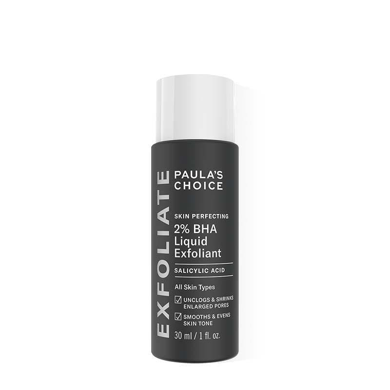 """<p>Ah, the exfoliating toner that put exfoliating toners on the map; meet the <product href=""""https://www.paulaschoice.com/skin-perfecting-2pct-bha-liquid-exfoliant/201.html"""" target=""""_blank"""" class=""""ga-track"""" data-ga-category=""""internal click"""" data-ga-label=""""https://www.paulaschoice.com/skin-perfecting-2pct-bha-liquid-exfoliant/201.html"""" data-ga-action=""""body text link"""">Paula's Choice Skin Perfecting 2% BHA Liquid Exfoliant</product> ($30). Not only does it reduce the appearance of enlarged pores fast, but it also keeps breakouts under control and never leaves behind a gross residue on the skin - making it worth <em>all</em> of the hype.</p>"""