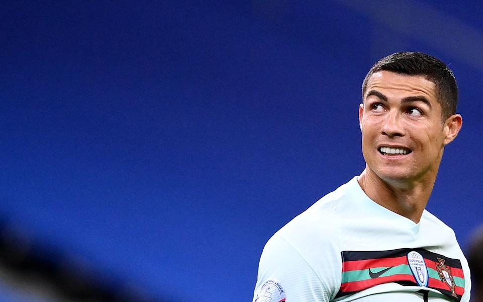 Cristiano Ronaldo is currently in sef-isolation and is not reporting any symptoms - AFP