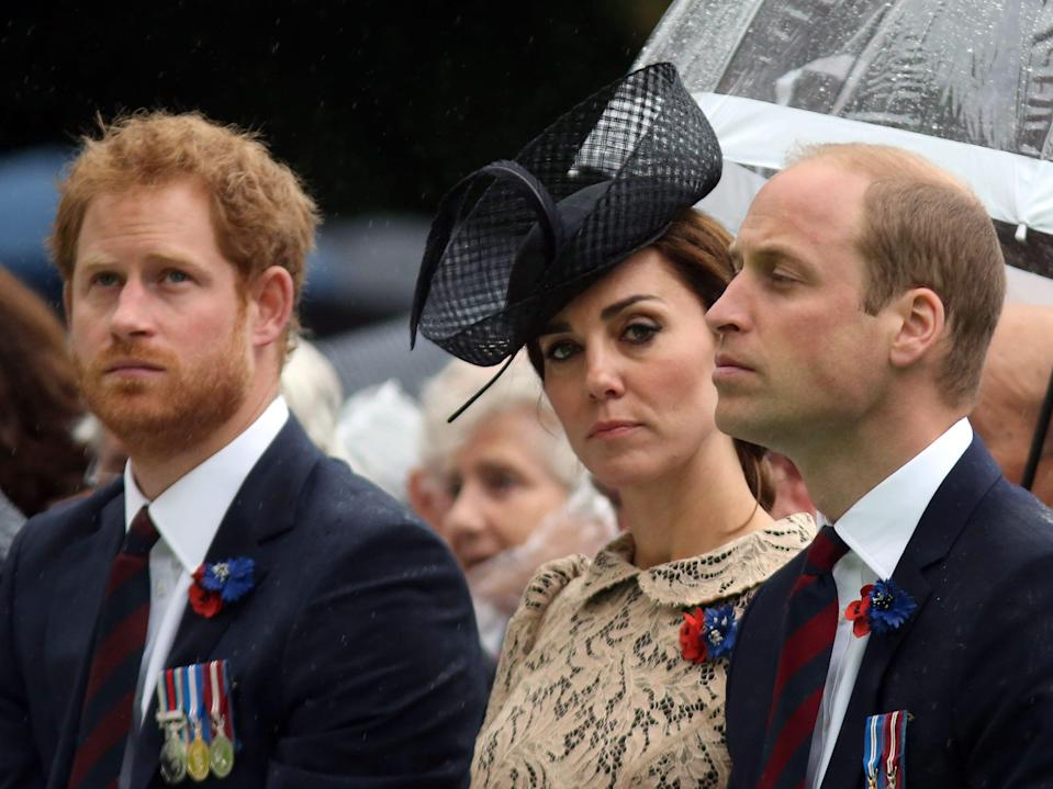 royal family prince harry william