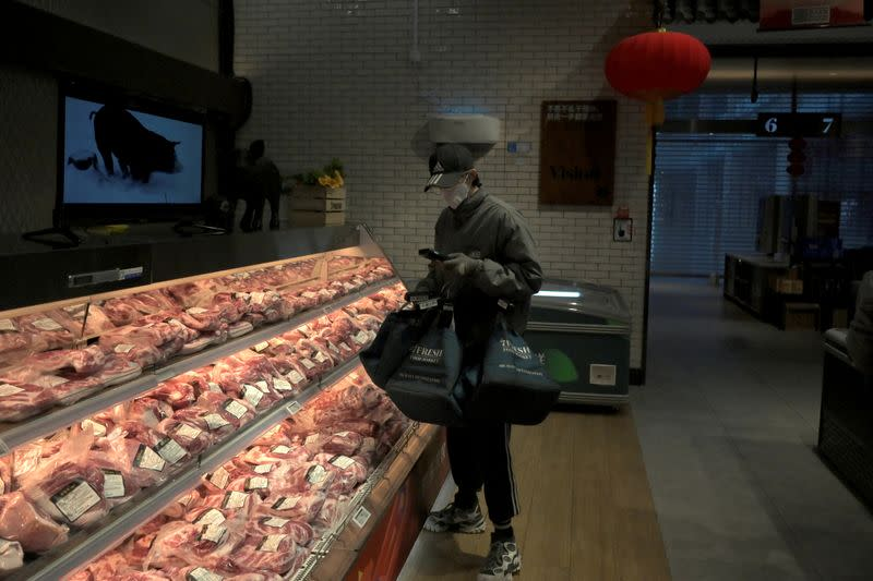 China's coronavirus clampdown pushes pork prices towards record