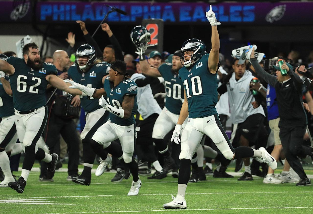 Super Bowl LII saw the Eagles triumphantly defeat the Patriots 41-33 in the game played in Minneapolis, Minnesota.