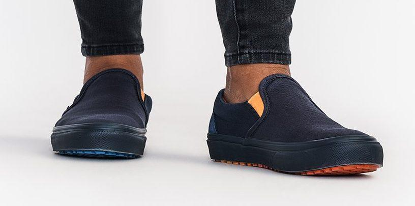 A front view of the Hedley & Bennett x Vans Slip-On. - Credit: Courtesy of Hedley & Bennett