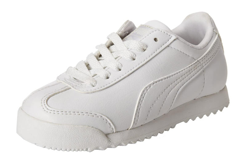 puma, girls, toddlers, sneakers, white