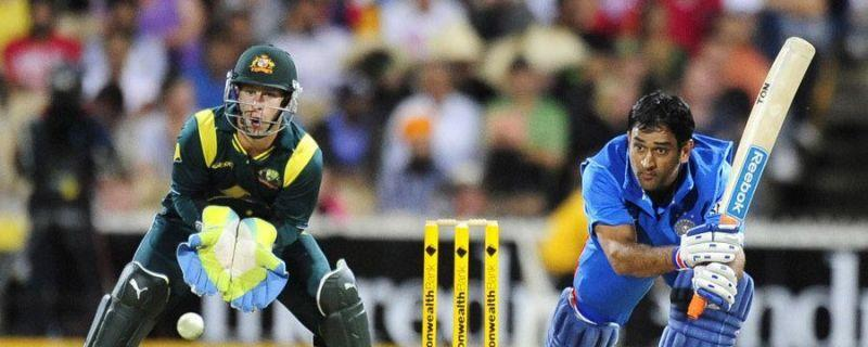 'Mr reliable'- Dhoni once again stayed till the endand ensured that India won the game.