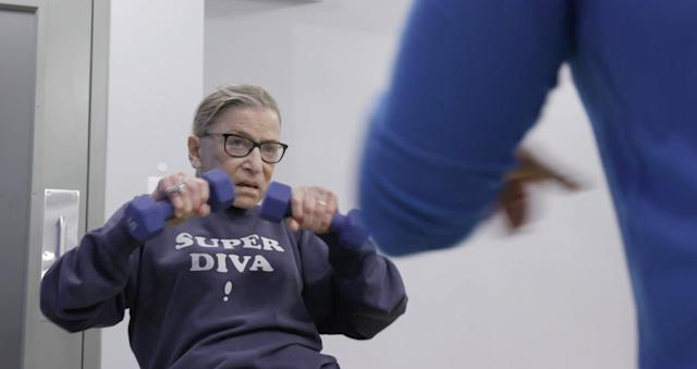 Ruth Bader Ginsburg is the subject of the documentary <em>RBG.</em> (Photo: Magnolia Pictures /Courtesy of Everett Collection)