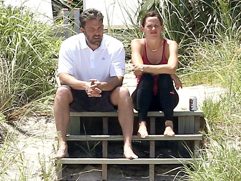 """<p>Jennifer Garner and Ben Affleck announced their separation in June 2015, just days before departing on a divorcemoon. The estranged couple took their three kids to the Bahamas for July 4th as the media circus (<a rel=""""nofollow"""" href=""""https://www.yahoo.com/celebrity/ben-affleck-denies-rumors-hes-dating-the-familys-125367232286.html"""" data-ylk=""""slk:and nannygate;outcm:mb_qualified_link;_E:mb_qualified_link;ct:story;"""" class=""""link rapid-noclick-resp yahoo-link"""">and nannygate</a>) began to unfold. While Jen and Ben don't exactly look happy here, the couple eventually nailed the co-parenting and co-vacationing thing. The exes <a rel=""""nofollow"""" href=""""https://www.yahoo.com/tv/ben-affleck-jennifer-garner-vacation-235900462.html"""" data-ylk=""""slk:have been spotted;outcm:mb_qualified_link;_E:mb_qualified_link;ct:story;"""" class=""""link rapid-noclick-resp yahoo-link"""">have been spotted</a> on multiple trips together over the last two years. However, we don't count on Lindsay Shookus <a rel=""""nofollow"""" href=""""https://www.yahoo.com/celebrity/jennifer-garner-confronted-lindsay-shookus-ben-affleck-relationship-sources-say-163343007.html"""" data-ylk=""""slk:getting an invite anytime soon;outcm:mb_qualified_link;_E:mb_qualified_link;ct:story;"""" class=""""link rapid-noclick-resp yahoo-link"""">getting an invite anytime soon</a>. (Photo: BACKGRID) </p>"""