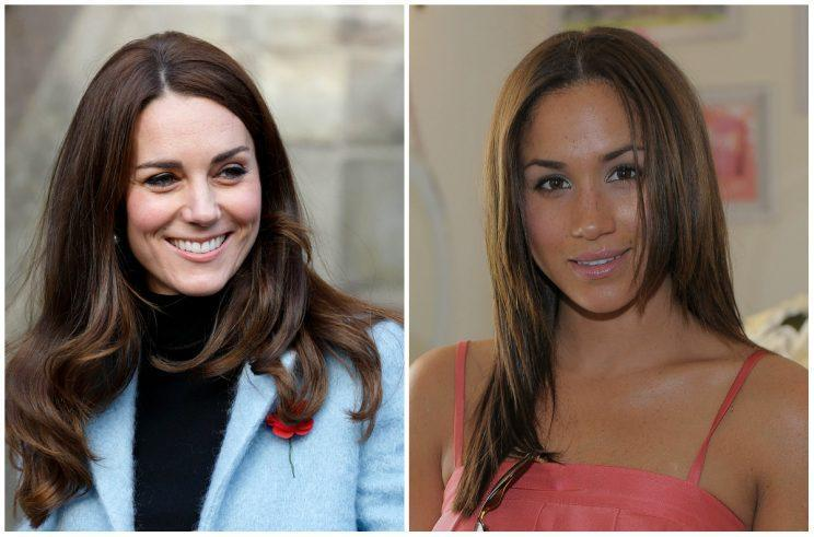 Photo: Kate Middleton, Meghan Markle/Getty Images