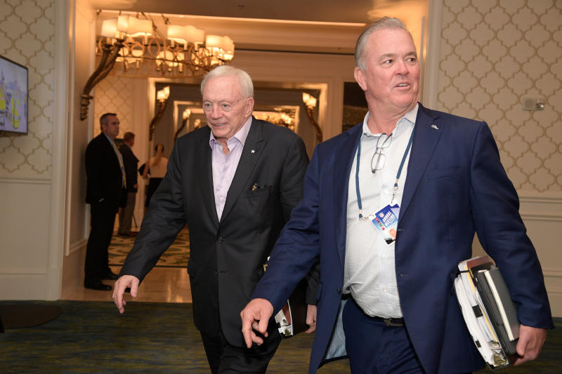 Jerry Jones has remained quiet as other NFL owners speak out against systemic racism. (Phelan M. Ebenhack/AP Images for NFL, File)