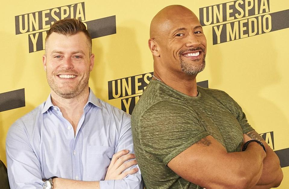 <p>Another 'Central Intelligence' reunion for Johnson, as he once again teams up with writer-director Rawson Marshall Thurber for this action thriller, said to centre on a hostage crisis at the top of China's tallest building. Little else is known at present, but it's due in cinemas 13 July 2018. (Picture credit: Sean Thorton/WENN.com) </p>