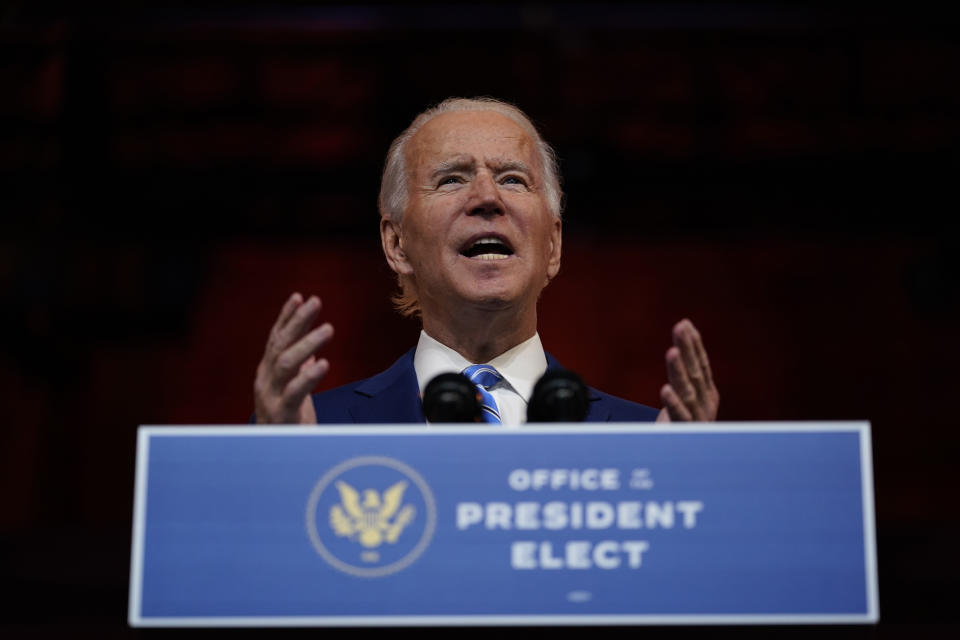 President-elect Joe Biden moves quickly to build a diverse administration