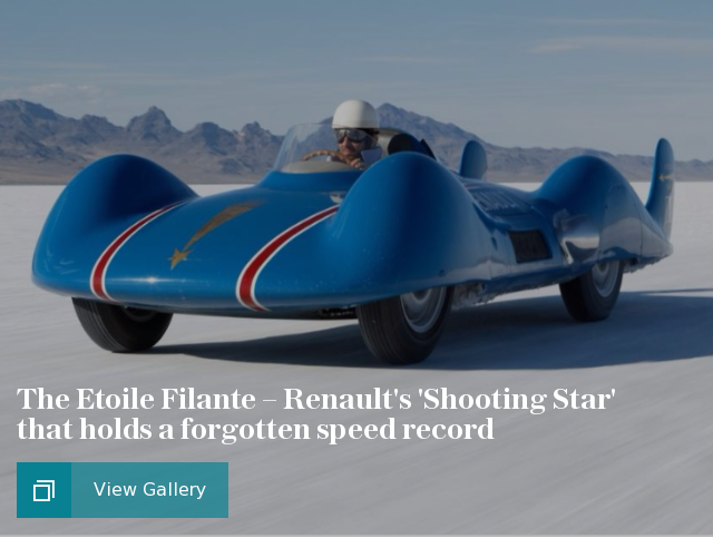 The Etoile Filante – Renault's 'Shooting Star' that holds a forgotten speed record