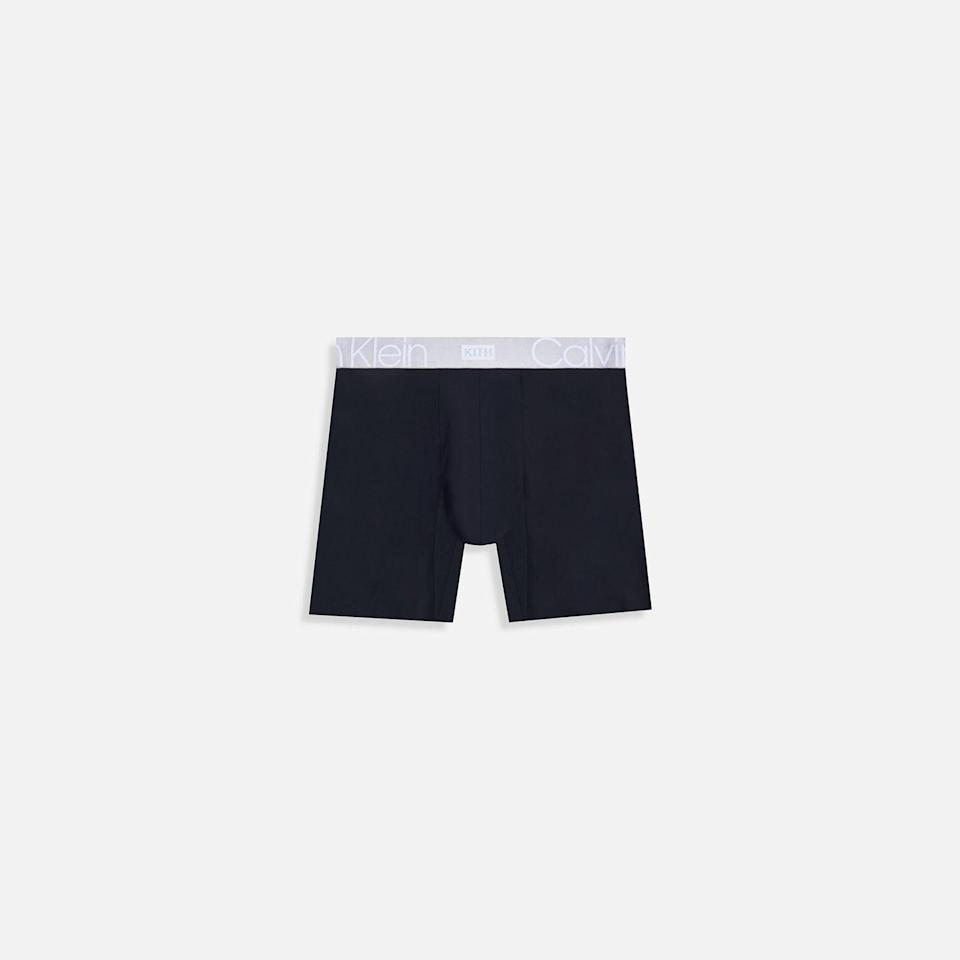 """<p><strong>KITH X CALVIN KLEIN</strong></p><p><strong>kith.com</strong></p><p><a class=""""link rapid-noclick-resp"""" href=""""https://kith.com/"""" rel=""""nofollow noopener"""" target=""""_blank"""" data-ylk=""""slk:Buy"""">Buy</a></p><p>Sure, the historic tie-up between the two brands technically drops on Saturday, but trust me: You'll want to be properly prepared well beforehand.</p>"""