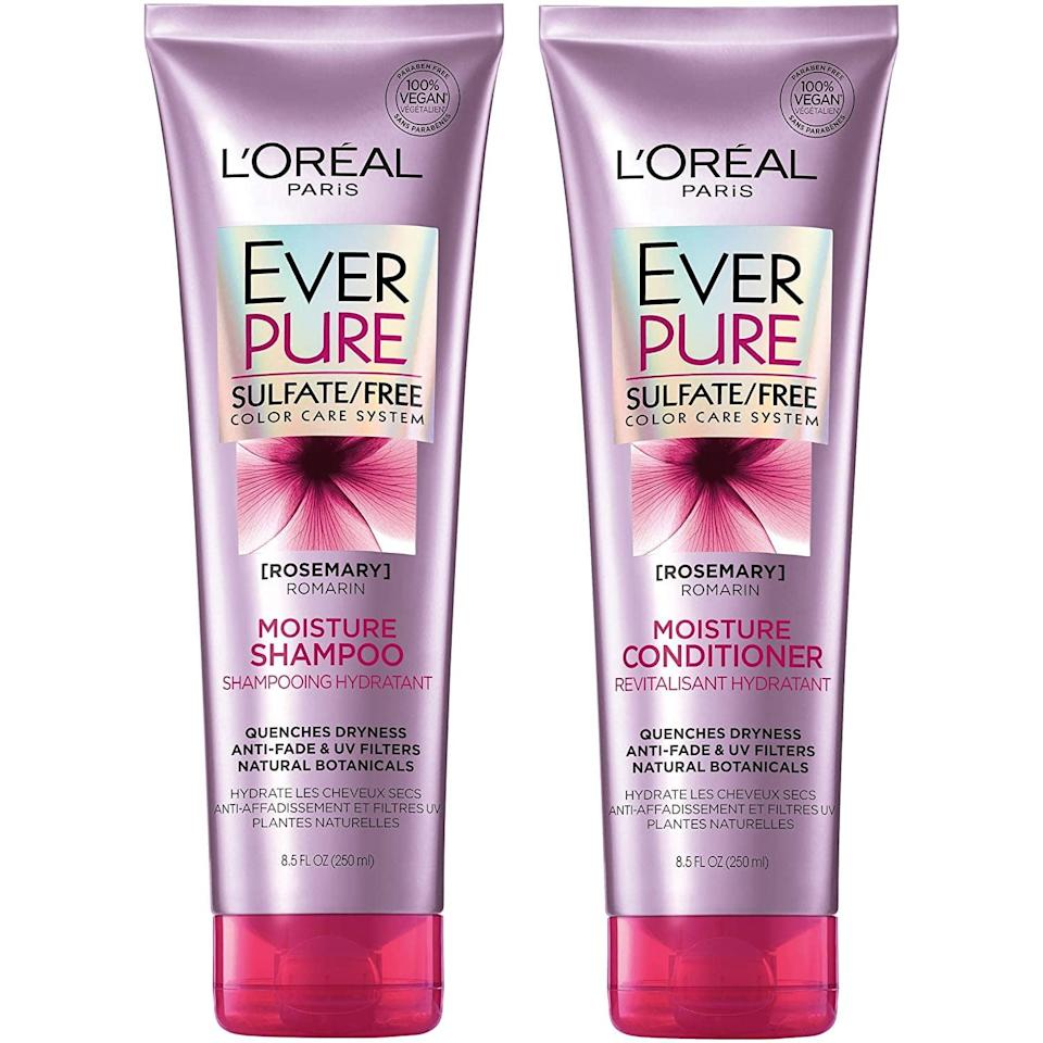 <p><span>L'Oréal Paris EverPure Moisture Shampoo &amp; Conditioner Kit</span> ($9, originally $14)</p>