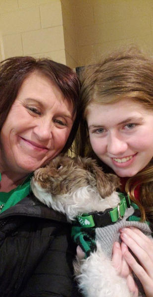 <p> This Friday, Jan. 11, 2019 photo shows Jayme Closs, right, with her aunt, Jennifer Smith in Barron, Wis. Jake Thomas Patterson, a 21-year-old man killed a Wisconsin couple in a baffling scheme to kidnap Jayme Closs, their teenage daughter, then held the girl captive for three months before she narrowly managed to escape and reach safety as he drove around looking for her, authorities said. (Jennifer Smith via AP) </p>