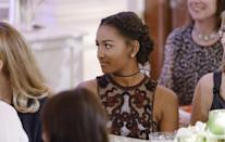 "<p>Sasha Obama was the picture of cool in a gown from Naeem Khan featuring sheer panels and embroidery. She made it all her own by styling her hair in a braided crown and tying a thin ribbon around her neck as a choker. Sasha — who along with her sister has grown up in the White House — received praise from Prime Minister Trudeau, the offspring of a politician as well. ""Quite frankly, the memories for me of being a kid and not being old enough to attend these kinds of events with my father almost makes me wish I had gone through my teenage years as a child of a world leader — but not quite,"" he joked, before adding, ""I admire you very much, both of you, for your extraordinary strength and your grace, through what is a remarkable childhood and young adulthood that will give you extraordinary strength and wisdom beyond your years for the rest of your life. The one thing that you have received from your extraordinary parents is the tools to be able to handle the challenges and the opportunities in front of you."" (<i>Photo: Getty Images)</i></p>"