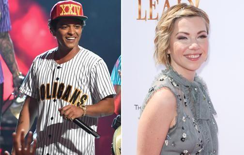 Bruno Mars ranked number two and Carly Rae Jespen ranked number three on the list. Source: Getty