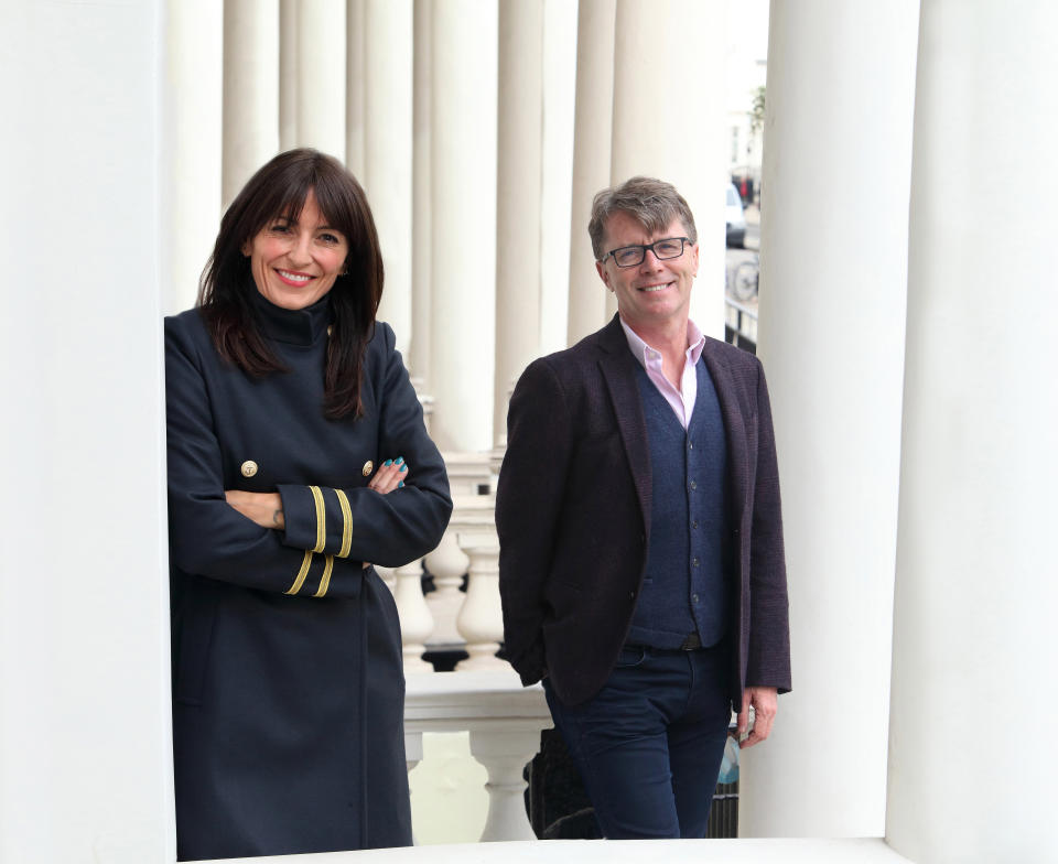 Davina McCall and Nicky Campbell host Long Lost Family. (ITV)