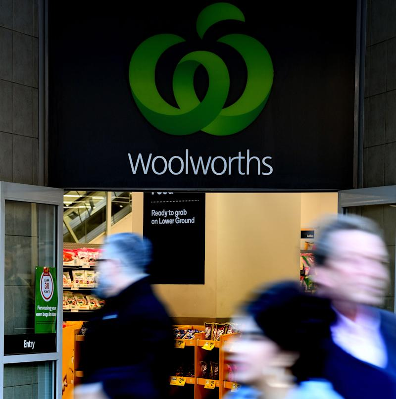 Woolworths supermarket. Source: AAP (File pic)