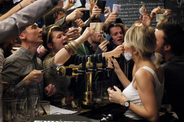 Pubs may be forced to keep music low so people don't have to shout. (Getty/file pic)
