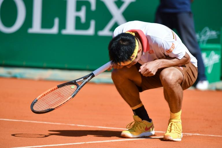 Nishikori started well, but threw away an early break and never recovered as Nadal went from strength to strength